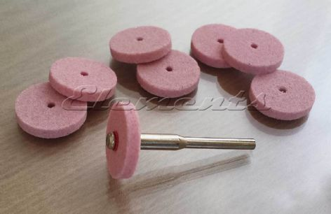 9 pc Set of Grinding Stone Wheels with Mandrel T037